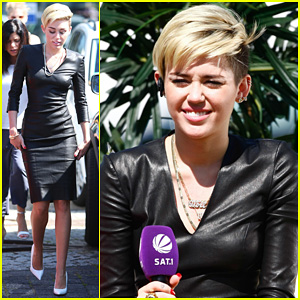 Miley Cyrus: I Told Justin Bieber to Take a Time Out