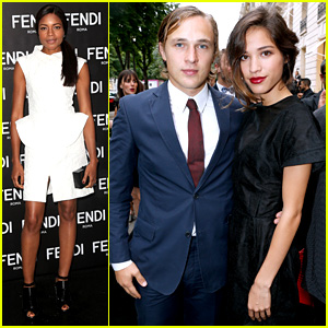 Naomie Harris & Kelsey Chow: Fendi & Glory of Water Parties!