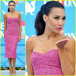 Naya Rivera: Giffoni Film Festival Photo Call!
