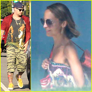 Nicole Richie: Beachfront Weekend with Joel Madden!