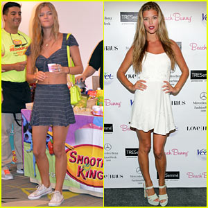 Nina Agdal: 'Life is Good' at Miami Fashion Week Swim!