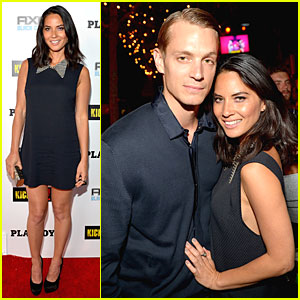 Olivia Munn & Joel Kinnaman: 'Kick-Ass 2' Party at Comic-Con!