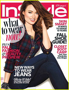 Olivia Wilde Covers 'InStyle' August 2013