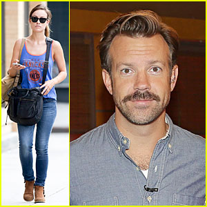 Olivia Wilde Supports Knicks, Jason Sudeikis Promotes 'We're the Millers'!