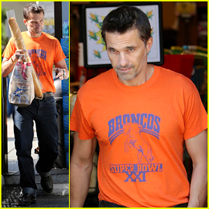 Olivier Martinez: Grocery Shopping After French Wedding!