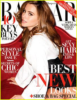 Sofia Vergara Covers 'Harper's Bazaar' August 2013
