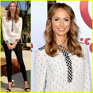 Stacy Keibler Promotes New Show After George Clooney Split