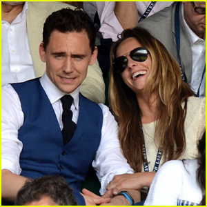 Tom Hiddleston: Wimbledon Finals with Jane Arthy!