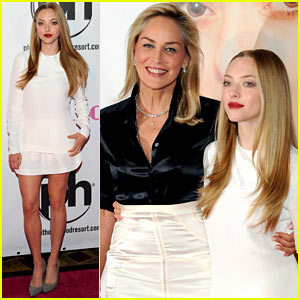 Amanda Seyfried: 'Lovelace' Las Vegas Premiere with Sharon Stone!