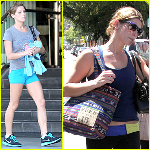 Ashley Greene Works Out Twice in One Day!