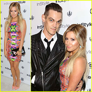 Ashley Tisdale & Christopher French: Engaged Couple at 'InStyle' Soiree!