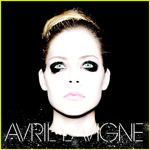 Avril Lavigne Goes Emo on New Self-Titled Album Cover