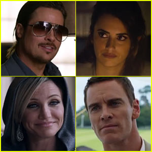 Brad Pitt & Michael Fassbender: 'Counselor' Trailer - Watch Now!
