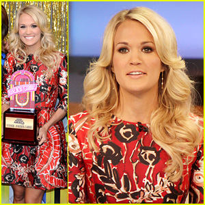 Carrie Underwood Delivers Pop News on 'GMA'!