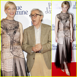 Cate Blanchett: 'Blue Jasmine' Paris Premiere with Woody Allen!