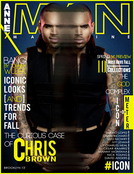 Chris Brown Covers 'Annex Man' Fall 2013