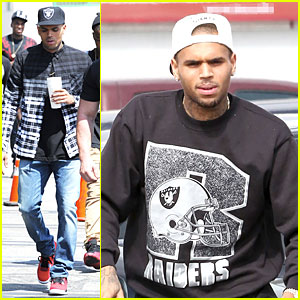Chris Brown Shoots 'Love More' Music Video!