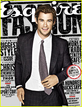 Chris Hemsworth Covers 'Esquire' September 2013