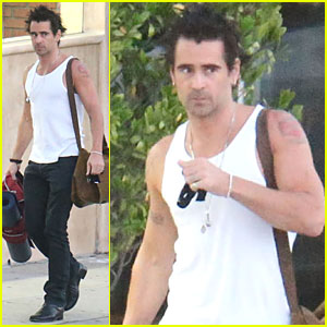 Colin Farrell Explains His Love for Yoga!