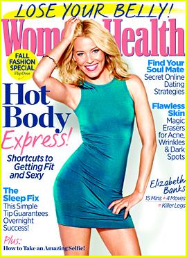 Elizabeth Banks Covers 'Women's Health' September 2013
