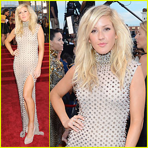 Ellie Goulding - MTV VMAs 2013 Red Carpet