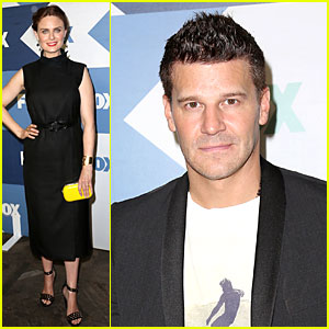 Emily Deschanel & David Boreanaz: Fox Summer TCA Party!