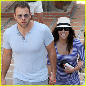 Eva Longoria & Ernesto Arguello Hold Hands in Marbella