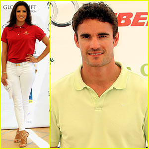 Eva Longoria & Thom Evans: Global Gift Golf Tournament!
