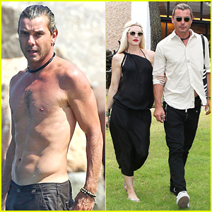 Gwen Stefani & Gavin Rossdale Attend Event After Beach Day
