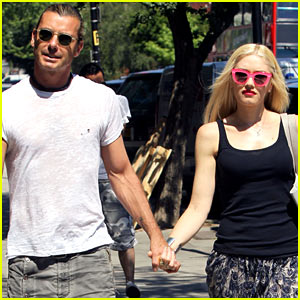 Gwen Stefani & Gavin Rossdale Hold Hands Before Lunch!