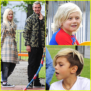 Gwen Stefani & Gavin Rossdale: Talacre's Play Centre with Boys!