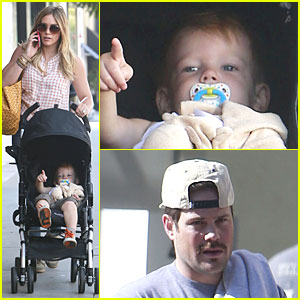 Hilary Duff & Mike Comrie: Weekend Breakfast with Luca!