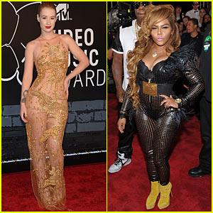 Iggy Azalea -  MTV VMAs 2013 with Lil' Kim!