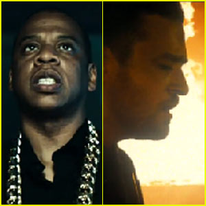 Jay Z & Justin Timberlake's 'Holy Grail' Video Premiere - WATCH NOW!