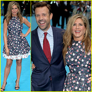 Jennifer Aniston: 'We're the Millers' European Premiere with Jason Sudeikis!