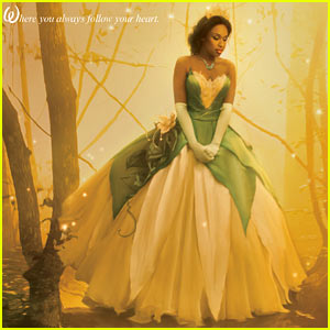 Jennifer Hudson: Princess Tiana Disney Dream Portrait!