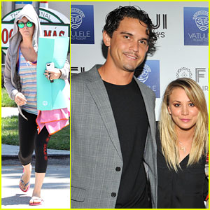 Kaley Cuoco & Ryan Sweeting: Vatulele Island Resort Launch!