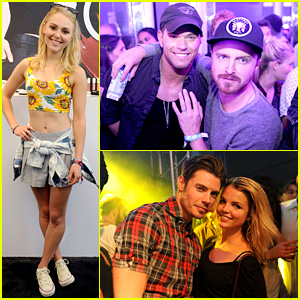 Kellan Lutz & Aaron Paul: Lollapalooza Party People!