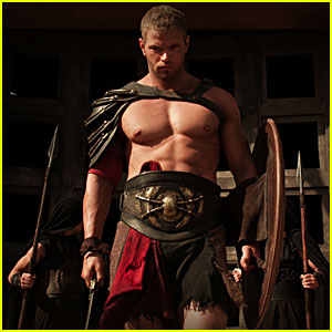 Kellan Lutz: Shirtless 'Hercules 3D' Stills!