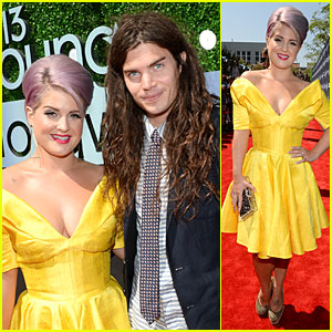 Kelly Osbourne & Matthew Mosshart - Young Hollywood Awards 2013 Red Carpet