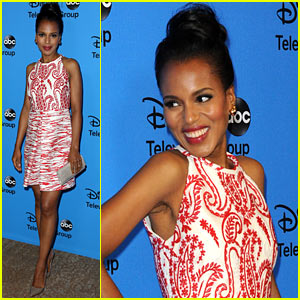Kerry Washington: 'Scandal' at TCA's Disney/ABC Party!
