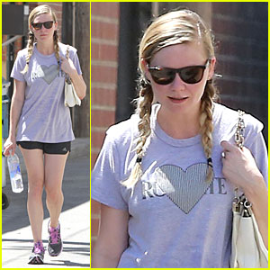 Kirsten Dunst Hearts Friday Workouts!