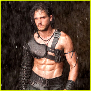Kit Harington: Shirtless & Ripped for 'Pompeii' Teaser Trailer!