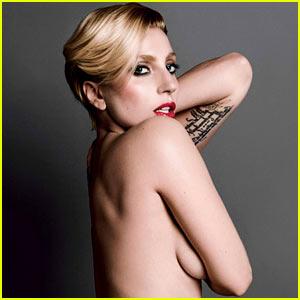 Lady Gaga: More Nude 'V' Magazine Pics!