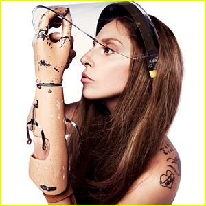 Lady Gaga Shares Prosthetic Arm & 'Applause' Video Photos!