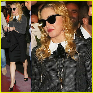 Madonna: Hard Candy Fitness Center Visit in Rome!