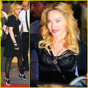 Madonna Rocks Gold Grills at the Hard Candy Fitness Center!