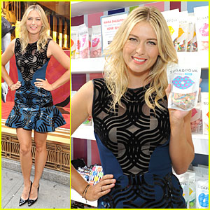 Maria Sharapova: Sugarpova Accessory Collection Launch!