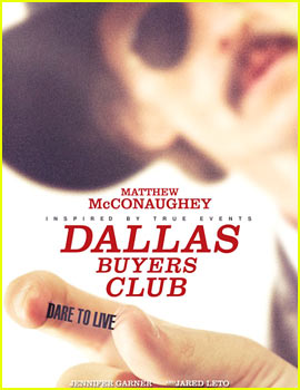 Matthew McConaughey: 'Dallas Buyers Club' Trailer & Poster!