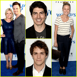 Megan Hilty & Brie Larson: 'World's End' Hollywood Premiere!